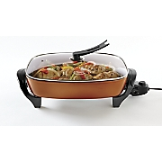 copper electric skillet by ginny s