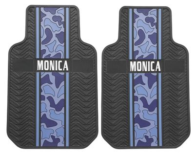 Set of 2 Personalized Camo Truck Mats