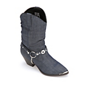 denim slouch boot by dingo