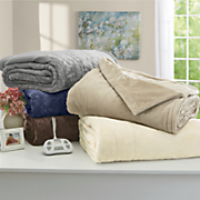 silky plush warming blanket
