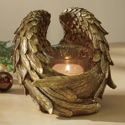 Angel Wings Candleholder