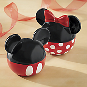 mickey   minnie salt   pepper set