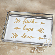faith hope love tray
