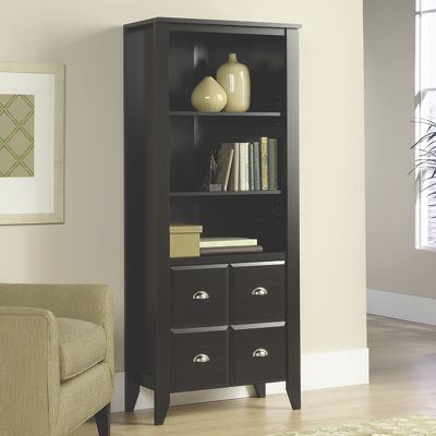 Shoal Creek Bookcase with Cabinet
