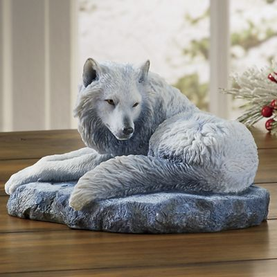 Guardian of The North Wolf Figurine