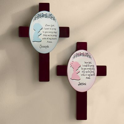 Personalized Prayer Cross