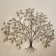 metal tree decor