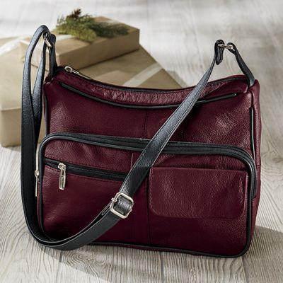Hobo Leather Organizer Bag