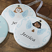 angel personalized ornament