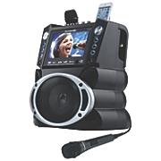 dvd cdg mp3g karaoke system with 7 screen record bluetooth by karaoke usa 1