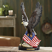 personalized eagle americana statue