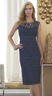 Lila Jewel-Trim Dress