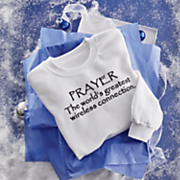 prayers and blessings sweatshirt