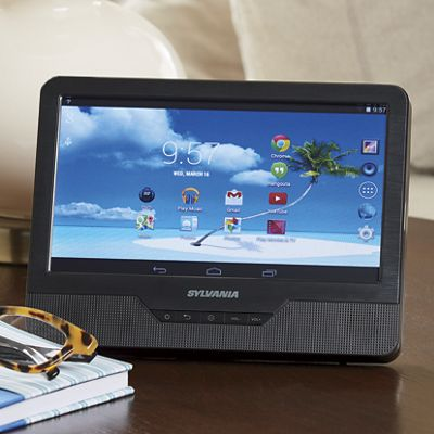"""9"""" Combo Tablet/DVD Player by Sylvania"""