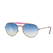 women s mirrored sunglasses by ray ban