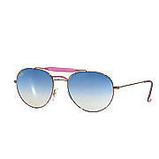 women s mirrored sunglasses by ray ban