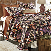 leaf oversized quilt and sham