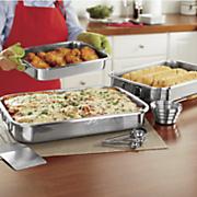 12 pc  stainless steel roasting set