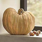 orange carved pumpkin