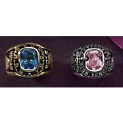 men s celebrium traditional class ring