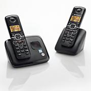 2 handset cordless phone system by motorola