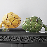 set of 2 artichokes