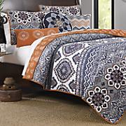medina saffron quilt set