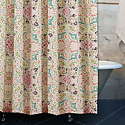 morocco gem shower curtain