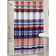 urban boho shower curtain