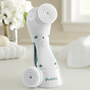 sonic pivot control facial brush by pretika