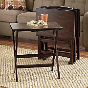 5 pc  tv tray table set 20