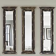 distressed black mirror