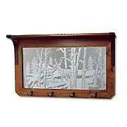 Wildlife Reflections Mirror Rack