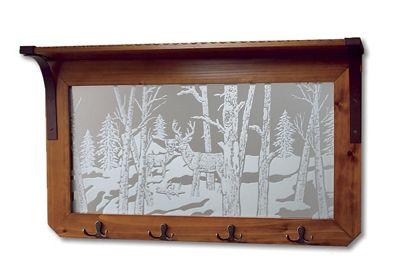 'Wildlife Reflections' Mirror Rack