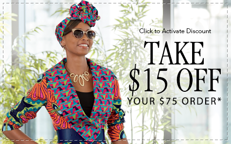 Take $15 Off Your $75 Order