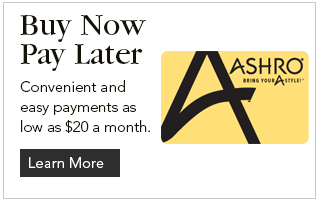 Convenient and easy payments as low as $20 a month.