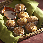 Apple Muffins with Brown Sugar Sauce Recipe