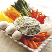 Wisconsin Blue and Cottage Cheese Onion Dip