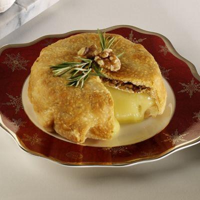 Savory Wisconsin Brie-En-Croute