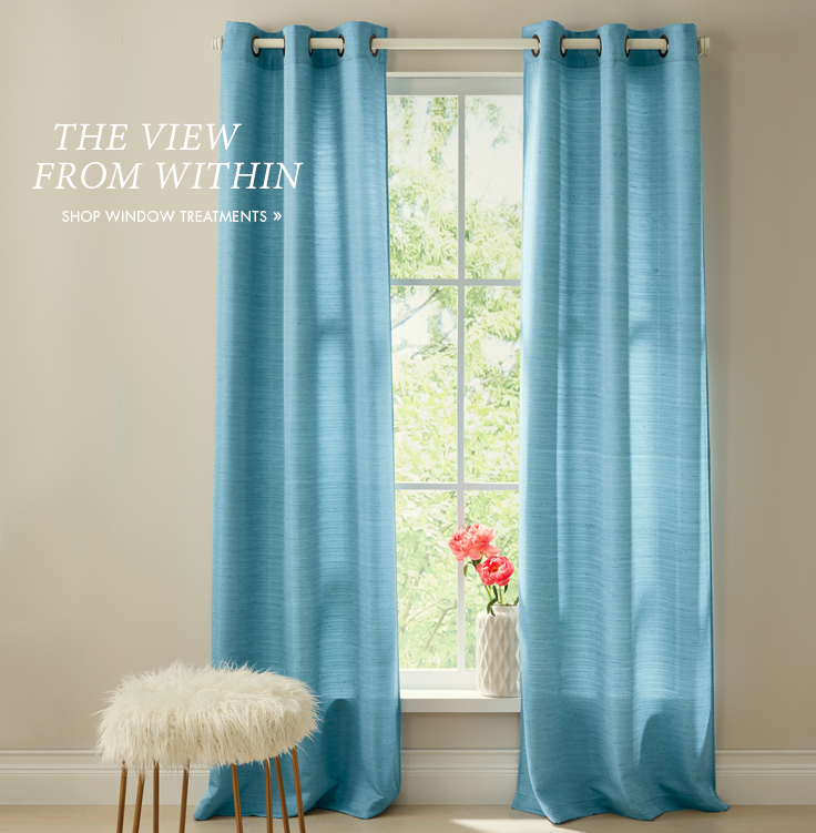 The View From Within   Panels and drapes to decorate, frame and highlight your windows. Shop Window Treatments