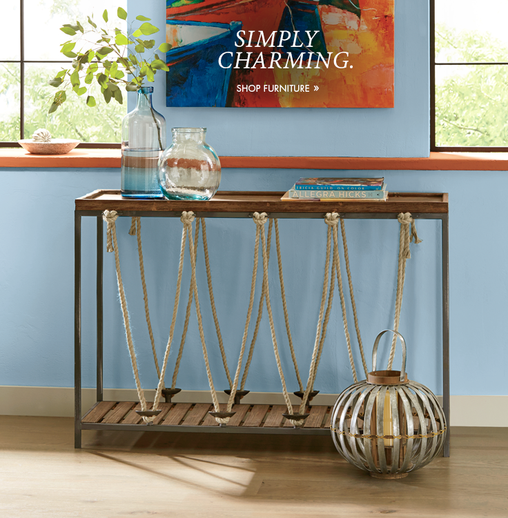Simply Charming. Shop Furniture.