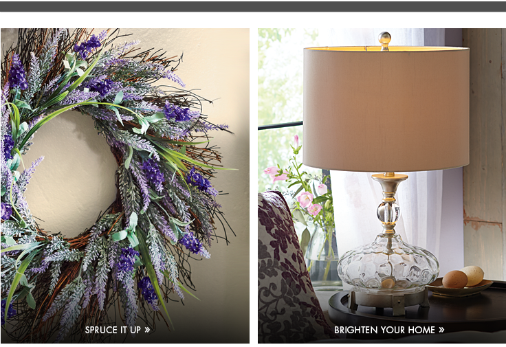 Shop Floral and Lamps