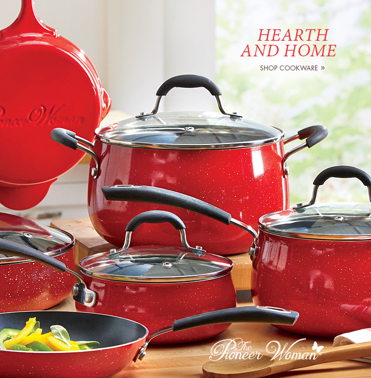 Hearth and Home. Shop Cookware.