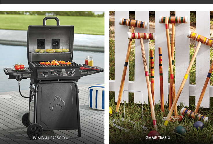 Shop Summer Items and Other Outdoor Accents