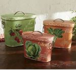 Vegetable Tins