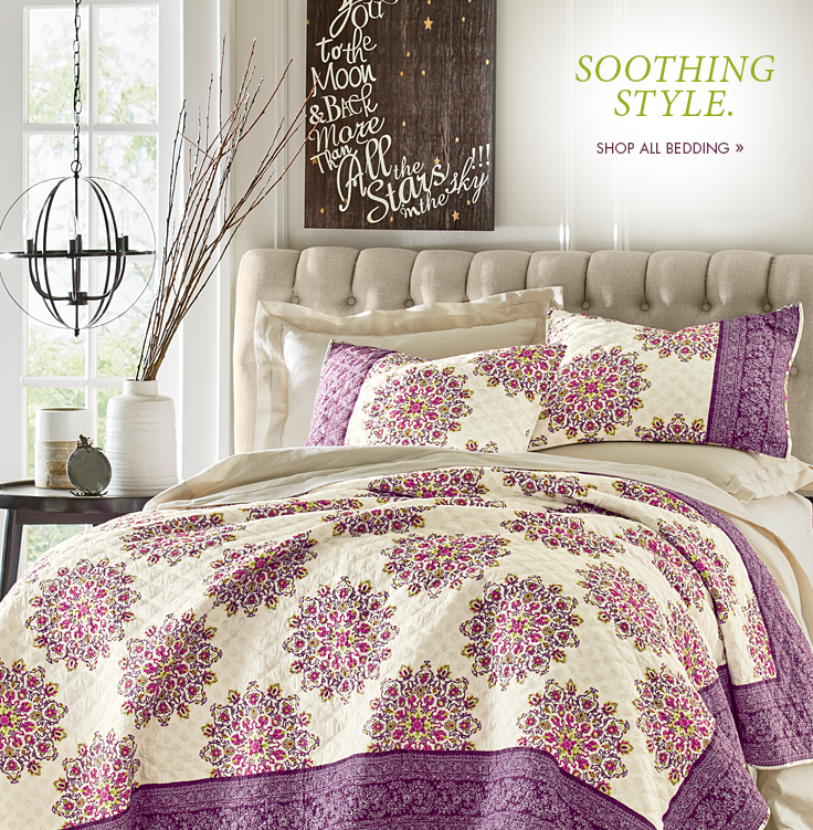 Shop Quilt, Comforters and Bedspreads