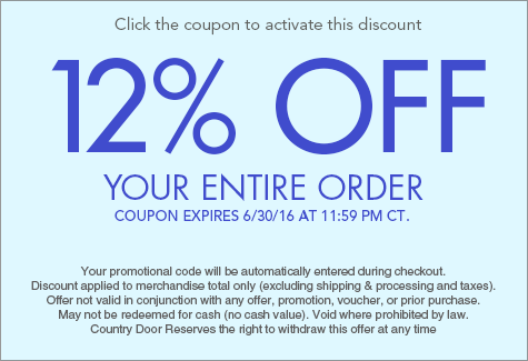 12% off entire order
