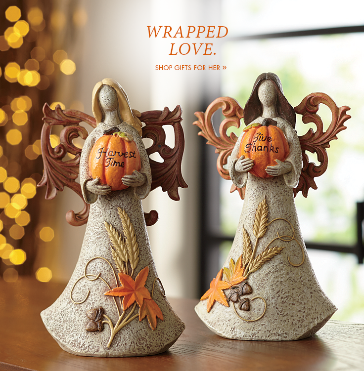 Wrapped Love. Shop Gifts for Her.