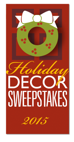 Country Door 2015 Holiday Sweepstakes