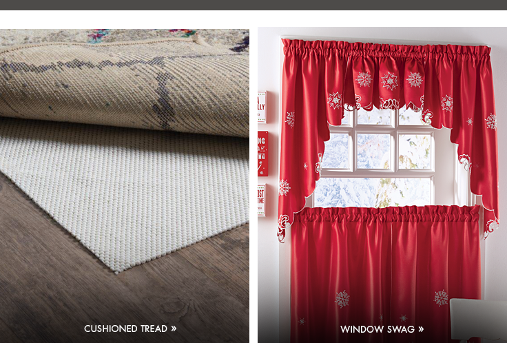 Indoor/Outdoor Rugs - Window Swag